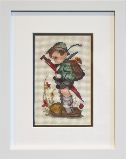 Fulwood Gallery Embroidery Framing page | Picture frame Preston ...